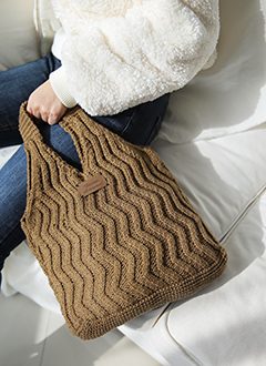 Wave Knit Bag
